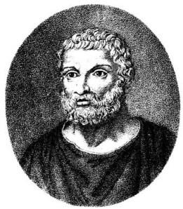 Il filosofo greco Talete di Mileto,  VII-VI sec. a.C.